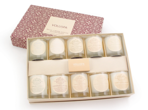 Voluspa Cream Candle Set